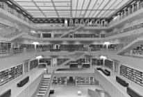 Architecture, photo, Manuela Martin, AIC Design, Stuttgart bibliotheque