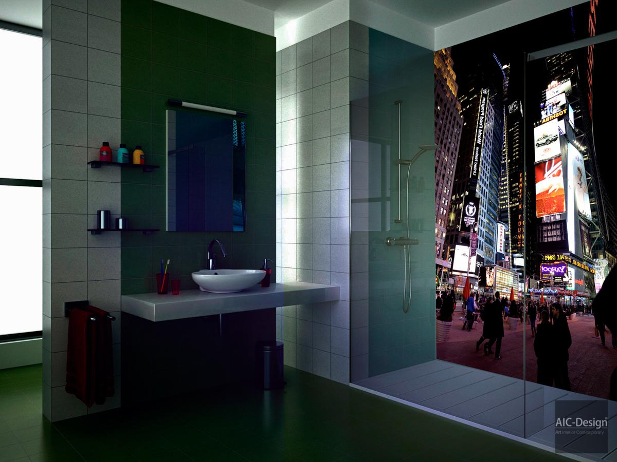 habillage mural salle de bain stunning habillage mur salle de bain salle de bain millimetri. Black Bedroom Furniture Sets. Home Design Ideas