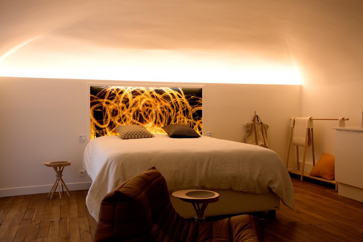 habillage et rev tement mural clair sur mesure aic design. Black Bedroom Furniture Sets. Home Design Ideas